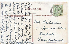 Genealogy Postcard - Family History - Richardson - Carlisle - Cumberland  GN812