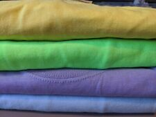 4 Pack of Adult 2XL Variety colored Blank t-shirts