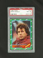 1986 Topps #179 Mark Moseley Washington Redskins PSA 8 NM-MT