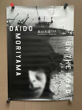 SALE! Super RARE! Daido Moriyama - ON THE ROAD, 2011 Large Exhibition Poster
