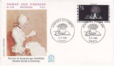 Enveloppe 1er jour FDC n°1154- 1980 - La Journée du Timbre