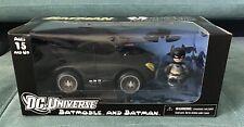 Mezco DC The Dark Knight Rises Mez-itz 2? Scale Batmobile & Batman Figure New