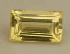 Natural Certified Ceylon Yellow Sapphire 7.00 Ct Baguette Cut Loose Gem Stone