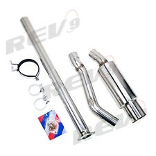 Single Exit Cat-Back Exhaust Kit Stainless 3 Inch Pipe For Mitsubishi Evo X