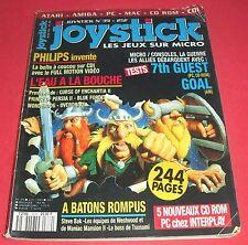 Magazine Joystick [n°39 Juin 1993] Amiga Atari ST PC Mac CD Rom CDDI *JRF