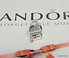 NEW/TAGS  AUTHENTIC PANDORA SILVER CHARM ADVENTURE BAG BACK-PACK  #797859CZ