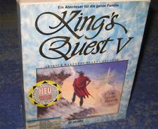 KING'S QUEST V 5 Pour MS-DOS PC de Sierra EO BIG BOX 1990 de collection