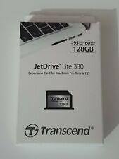 Transcend JetDrive Lite 330 128GB Storage Expansion Card for Macbook Pro