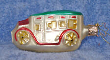 1991 Merck Familys Old World Christmas Ornament #4404 Old-Time Limo-retired 1997