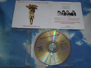 MARTHA'S VINEYARD UK 4 TRK PROMO MAXI CD SINGLE E.P