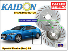 "Hyundai Elantra brake disc rotor KAIDON (Rear) type ""BS"" / ""RS"" spec"