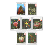 NIC8203 Flowers 7 stamps
