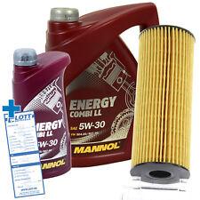 6L Mannol Energy Combi LL 5W-30 Motoröl Öl + Ölfilter für Mercedes-Benz / VW LT