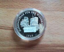 Medaille Silber BRD 1993 Marshallplan für Wiederaufbau Deutschlands 1949 M0589