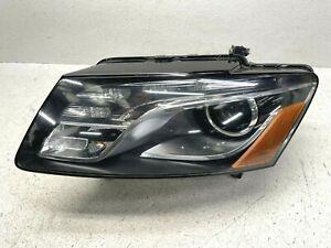 2009-2012 AUDI Q5 LEFT LH DRIVER SIDE COMPLETE HID XENON HEADLIGHT LAMP OEM