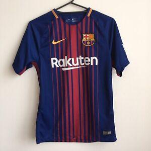 FC Barcelona Stadium Jersey 2017/18 by Nike - SMALL