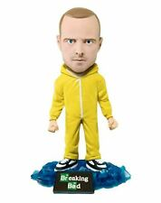 Breaking Bad Jesse Pinkman Yellow Hazmat Suit Mezco Bobble Head