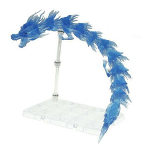 Dragon Effect Action Figure Holder Stand for Z S.H.Figuarts Tamashii Blue
