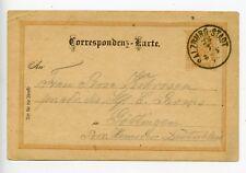 Austria 1894 postal stationery postcard Salzburg (S303)