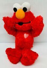 "Kissing Elmo Plush Stuffed Animal Character Toy Sesame Street 2010 Talking 12"""