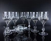 7 Gläser Weinglas Josephinenhütte ISKA Kristallglas Bleikristall Weingläser