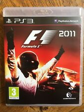 F1 Formula 1 2011 (unsealed) - PS3 UK Release New!