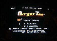 Nintendo Playchoice 10 Burgertime Cart Pc-10 Burger Time