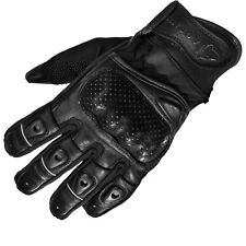 Agrius Strike Leather Motorcycle Gloves Motorbike Hard Knuckle Bike Ghostbikes