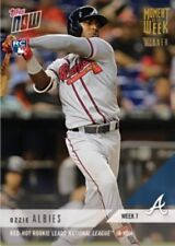 2018 Topps Now Moment Of The Week GOLD Winner Ozzie Albies RC SP Week 7 #MOW-7W