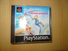 Barbie Super Sports PS1 Comme neuf Collectors Sony Playstation 1 PAL
