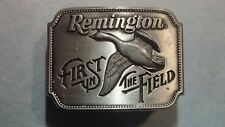Remington First In the Field Pewter Canada Goose Belt Buckle - Never Used