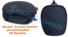 Harley Davidson Sportster Gel pad, Cuscino comfort Gel, Coussin de Gel