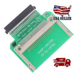 "Compact Flash CF Memory Card to 50pin 1.8"" IDE Hard Drive SSD Converter Adapter"