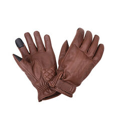 Indian Motorcycle Men's Leather Getaway Riding Gloves, Brown