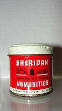 VINTAGE SHERIDAN 5mm AIR RIFLE AMMUNITION 500 RDS. - TIN CAN