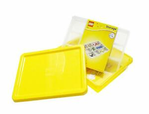 NEW LICENSED LEGO 4092 Yellow Storage Box S & Sorting Tray 4096 Lid Sealed