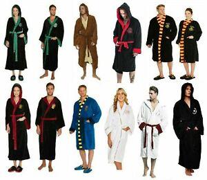 Harry Potter Bathrobe Slippers Fleece Dressing Robe Selection Star Wars Disney