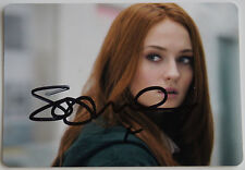 GAME OF THRONES SOPHIE TURNER SANSA SIGNED PHOTOGRAPH PSA DNA GUARANTEE AUTO