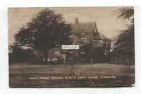 Nuneaton - Griff House, George Eliot's early home - 1924 used postcard