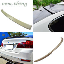 BMW F10 5-Series 4DR Rear A Type Roof & Performance Trunk Spoiler 16 530i 550i