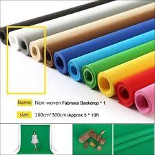 Multi-color Backdrop Cloth Non-woven Background Screen Photography Studio