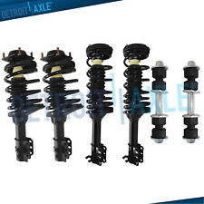 1997 - 2002 Ford Escort Mercury Tracer 6pc Front Rear Struts & Spring +Sway Bars