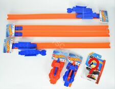 Hot Wheels Loop Builder, Track, & Launcher x2 + MYSTERY CAR - NEW Connector Tabs
