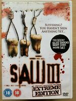 Saw 3 DVD 2006 III Horreur Thriller Film Extreme Edition