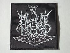 BLUT AUS NORD EMBROIDERED LOGO BLACK METAL PATCH