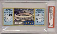 1980 ARMY NAVY football game Full ticket   PSA