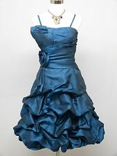 Cherlone Blue Prom Ball Evening Formal Wedding Bridesmaid Dress Size 12-14