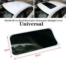 80x40CM Car Auto Roof Decor Panoramic Skylight Cover Film Sticker Protective Kit