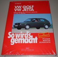 Reparaturanleitung VW Golf II Typ 19E Jetta 1,6 1,8 GL GT GTI G60 16V Syncro NEU