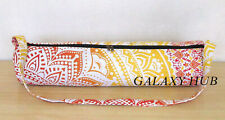 Indian Cotton Mandala Handmade Adjustable Exercise Carry Strap Tote Bag Yoga Mat
